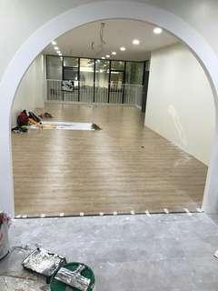 Vinyl flooring & laminate flooring