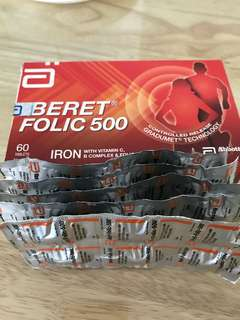 Iberet folic 500 (iron + Vit C tablet)