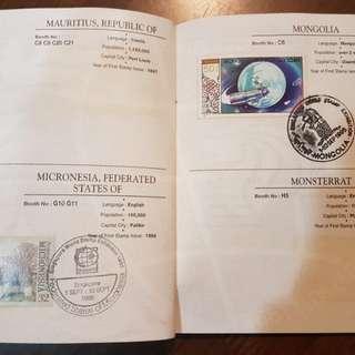 Stamp passport - 1995