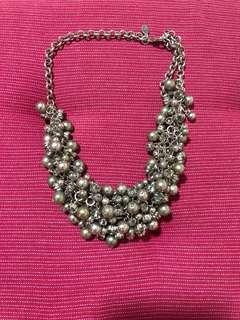Fancy statement necklace