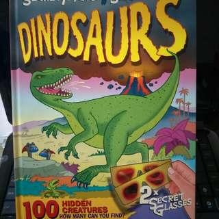 Secret Picture Search Dinosaur