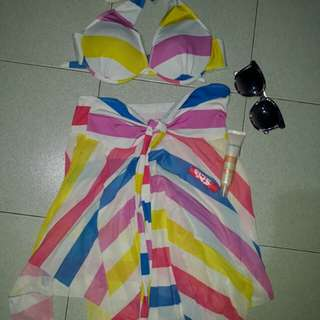 Bikini top & dress set