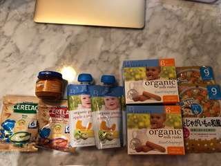 Bundle of baby food