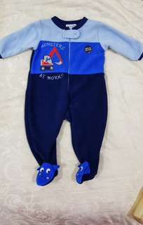 "Sleepsuit Early Days ""Monster at Work"""