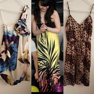 Forcast, Blockout and Bardot Dresses Size 6 / XS