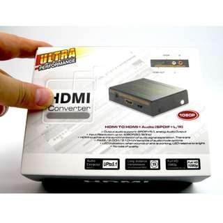 HDMI Audio Extractor - HDMI TO HDMI+Audio (SPDIF+L/R) - S0657
