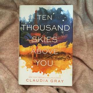 REPRICED: Ten Thousand Skies Above You (Hardcover)