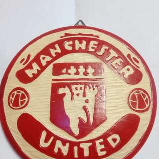Manchester united wood craft