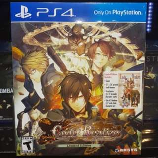 [PS4] Code: Realize ~Bouquet of Rainbows~ Limited Edition