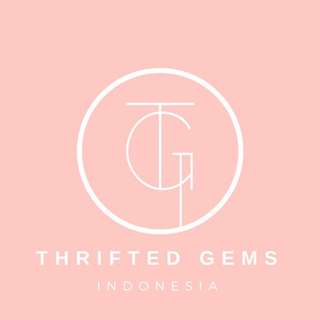 Follow @thriftedgemsindonesia on Instagram! ❤️