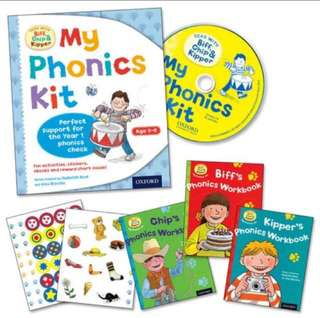 Oxford Read with Biff, Chip and Kipper: My Phonics Kit