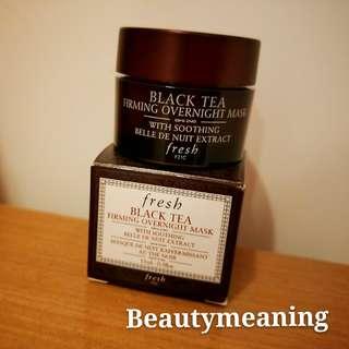Fresh black tea overnight mask 15ml