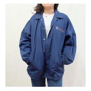 (Thrift jacket) Converse blue