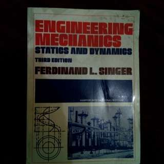 Engineering mechanics statics and dynamic book