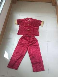 Traditional CNY costume