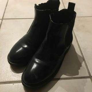 topshop chelsea boots size 37