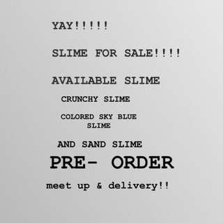 SLIME FOR SALE!!!