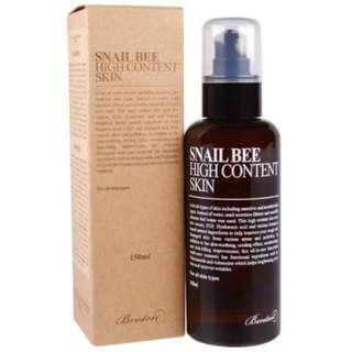 Benton Snail Bee High Content Skin 150ml FULL SIZE