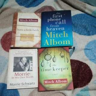 Mitch albom 4 books