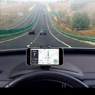 Car Dashboard HUD Phone Mount Holder