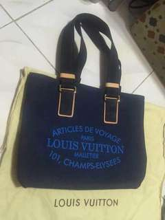 Louis Vuitton Denim Handbag and Slingbag