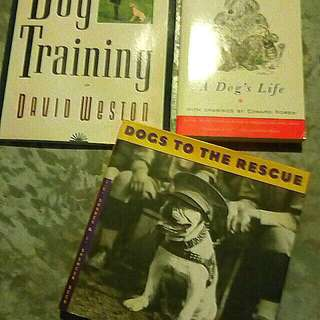 Dog Lovers books 3 for $10
