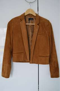 The Kooples suede jacket