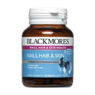 BLACKMORES SKIN NAILS and HAIR 60mg