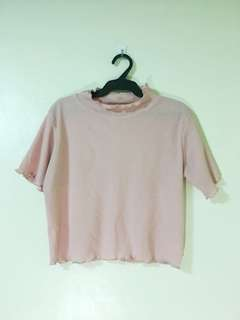 Unbranded Salmon Pink Hanging Top