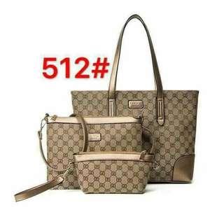 3in 1 bag set