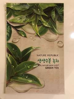Real Green Tea Mask