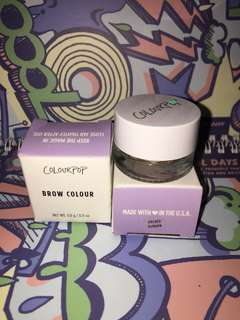 CUCI GUDANG SALE COLOURPOP AUTHENTIC AND NEW BROW POMADE BROW GEL BROW COLOUR