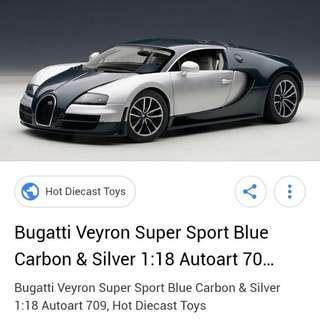 Autoart Bugatti Veyron SS