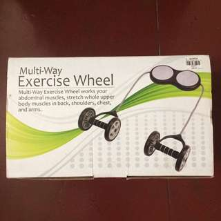 Multi-Way Exercise Wheel