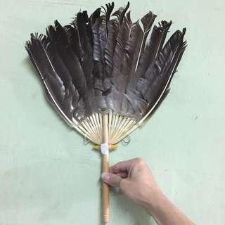 Duck Feathers Fan