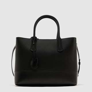 Zara City Bag with Zips