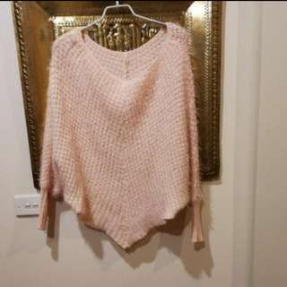 Baby pink knit