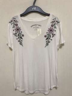 Aeropostale Embroidered Top