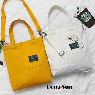Dong-Sun Canvas Tote Bag.