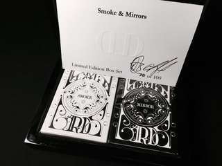 Dan & Dave Smoke & Mirrors v1 Limited Collector's Set 罕有啤牌撲克