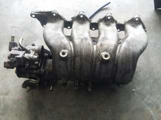 Evo 3 4G63T intake & JDM throttle body
