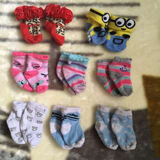 All Baby Socks And Mittens