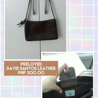 Preloved David Santos Leather Bag