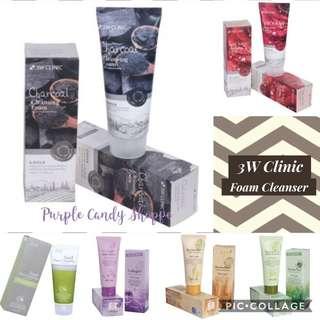3W Clinic Foam Cleansing
