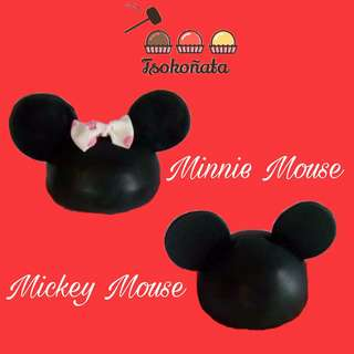 Mickey and Minnie Mouse Mini Dome Cake