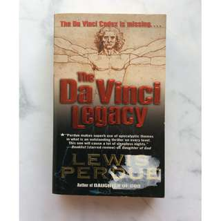 The Da Vince Legacy by Lewis Perdue