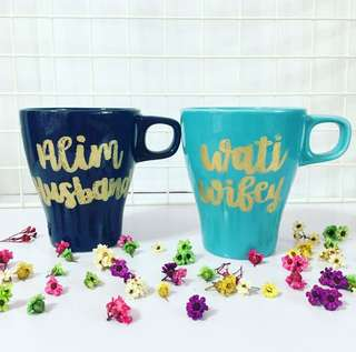Customisable Mug cup Colleagues coffee Colleague Day Teacher bridesmaid proposal Presents Present Gift Gifts wife Couple Office Birthday friend Friends Wedding Emboss Mugs Calligraphy Personalised Customised Farewell cheap Boyfriend Girlfriend anniversary
