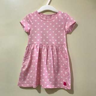 (18-24M) Mothercare pretty pink dress