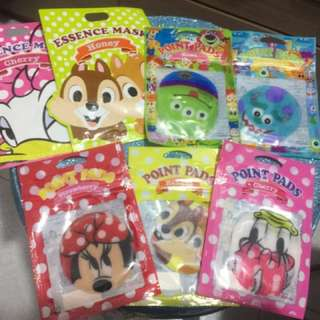 Disney - Face mask and point pads