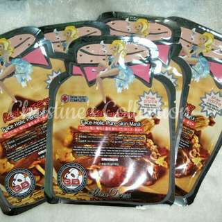 Faceholic Red Ginseng Facial Mask